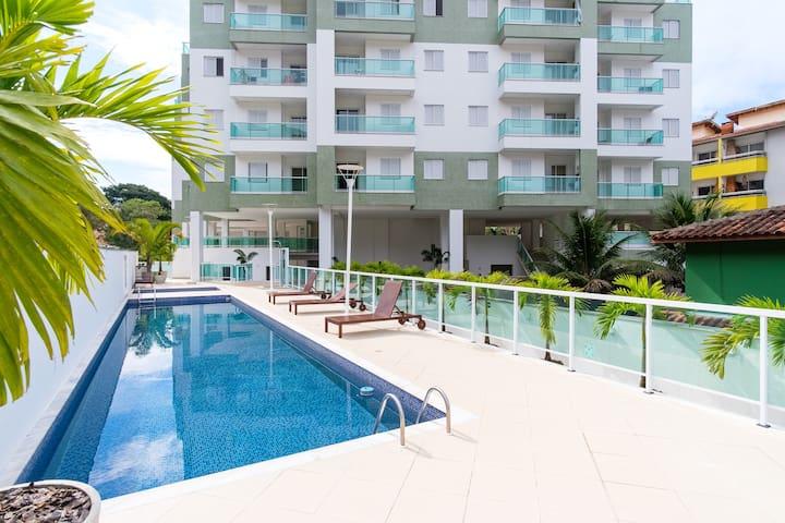 Apartamento novo e aconchegante Praia Grande