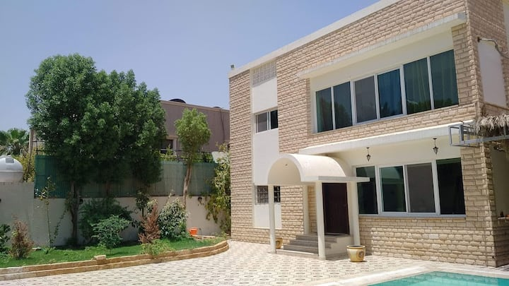 Rooms in 650m2 Villa with Pool-From SAR 225/night.