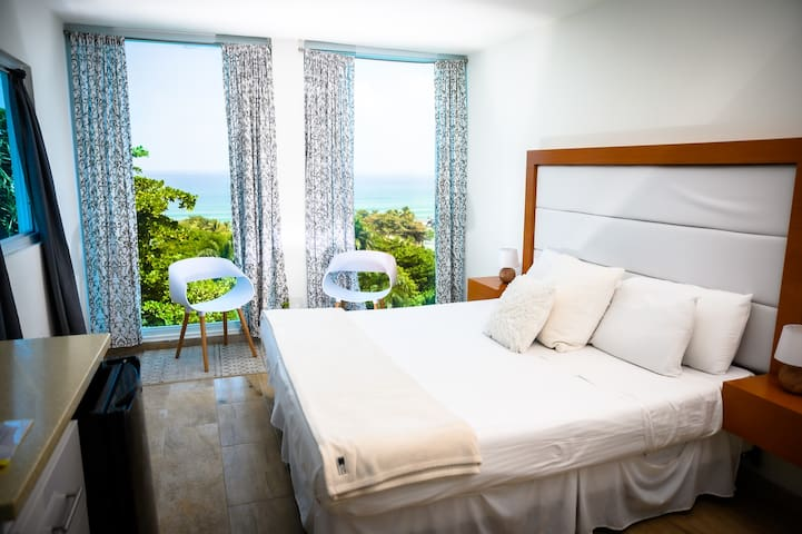 """Ocean View King Bed Suite - """"The Clouds"""""""