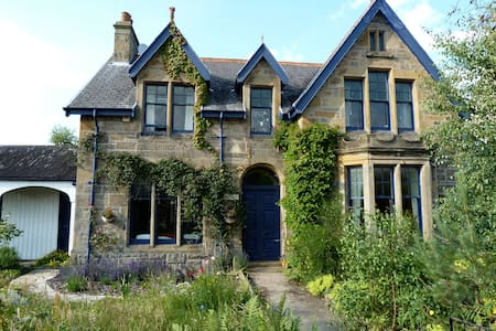 Victorian house with fairy garden - Forres