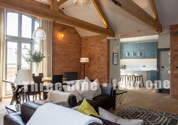 Manhattan loft style living in West Bridgford