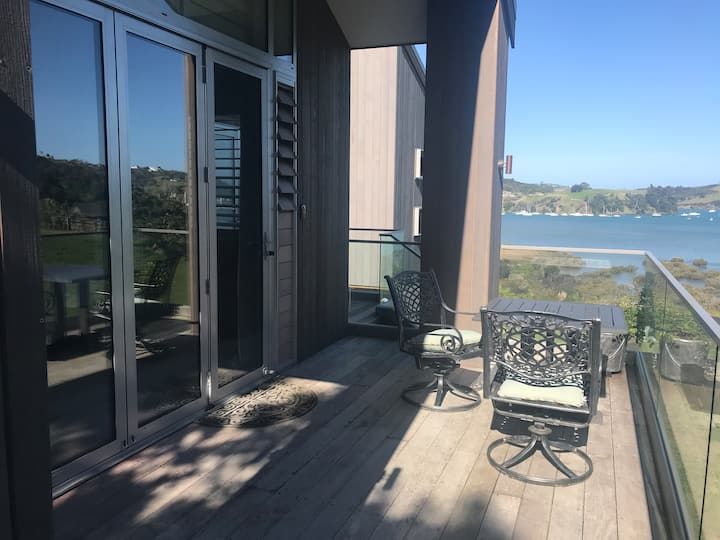 'Waiora'  private suite with sea and rural views
