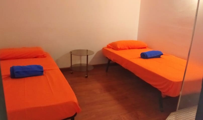 Double Room IBiza Orange Delight private shower