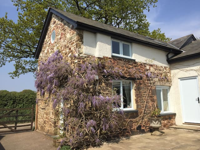 Owl Cottage, tranquil hideaway in rural mid-Devon.