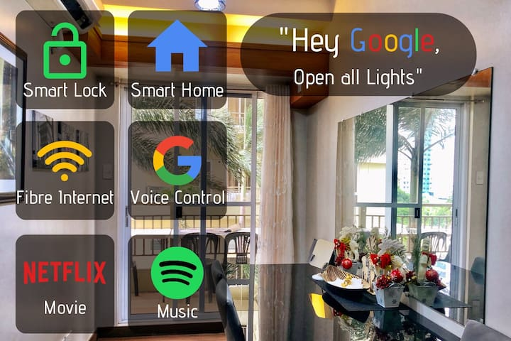 """HOTEL class amenities"" Smart Home ⭐ LaVerti"