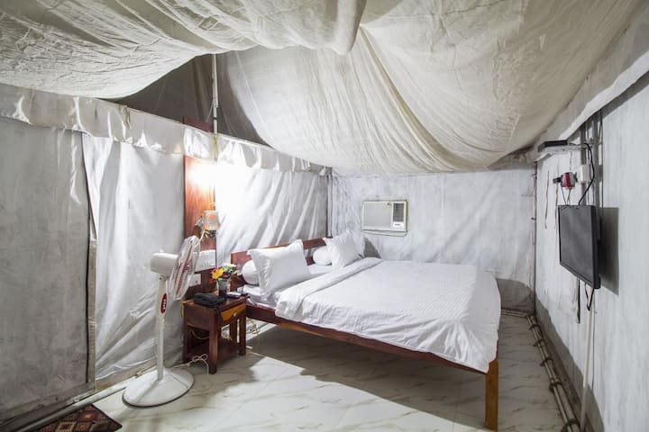 Private Tent & Breakfast with Sit Out