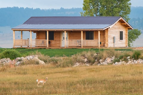 Log Cabin on Kara Creek