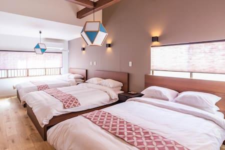 Designer house/5 mins to Namba/Bijou Suites Musubi