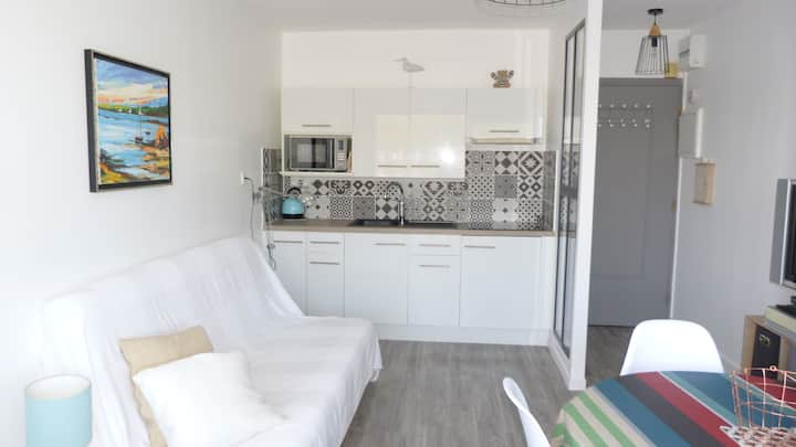 Appartement lumineux  à Ouistreham  F2 32m2