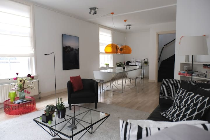 Luxury Spacious  Apartment  in Delft Old Centre. - Delft - Flat