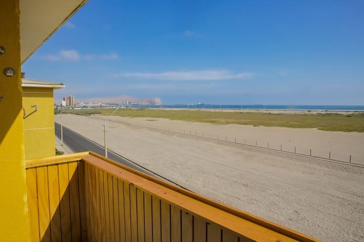 Vista desde el balcon / view from balcony