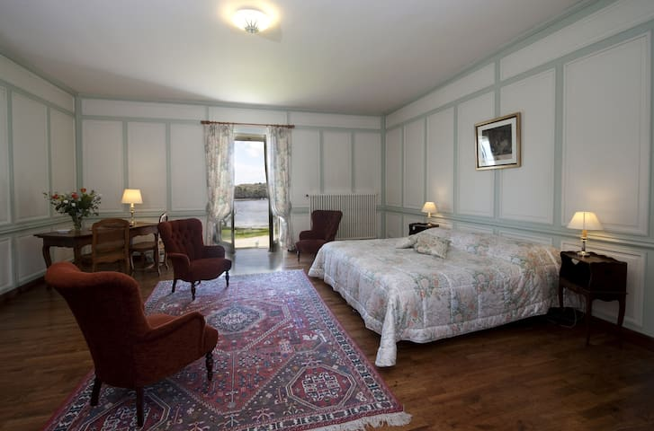 Enjoy the warm and cozy decor.