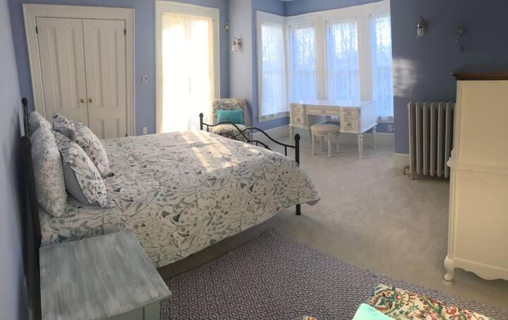 Victorian Elegance: Master Bedroom