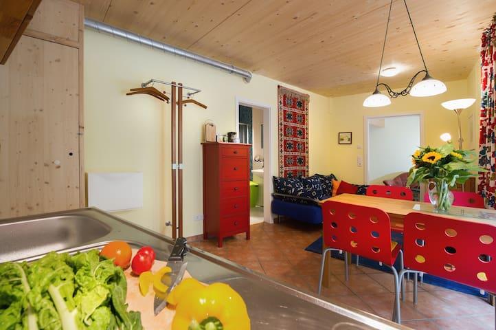 Öko-Ferienwohnung Goldbach - Überlingen - Apartamento