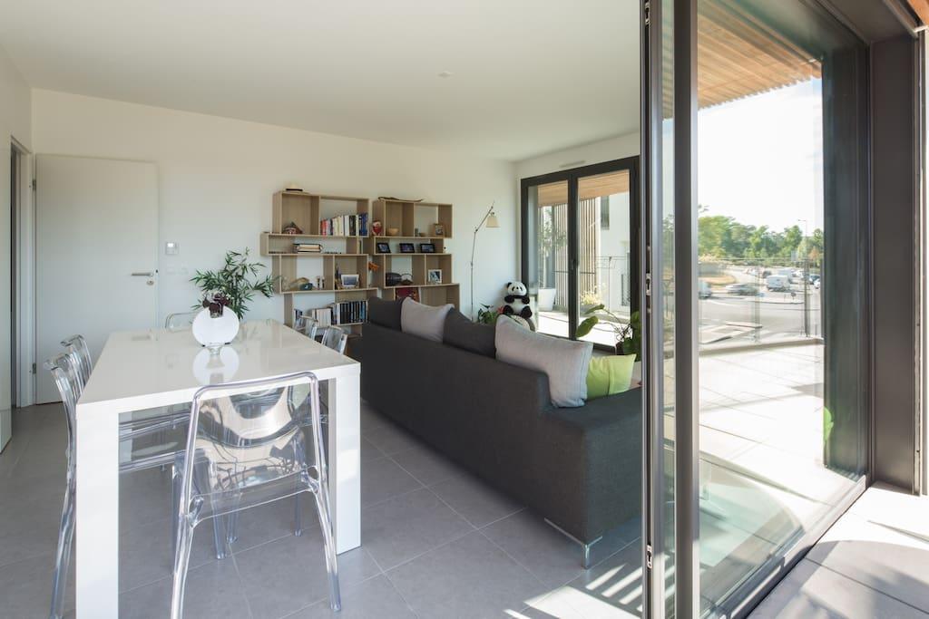 grand t3 neuf 78 m2 bordeaux lac appartements louer bordeaux aquitaine france. Black Bedroom Furniture Sets. Home Design Ideas
