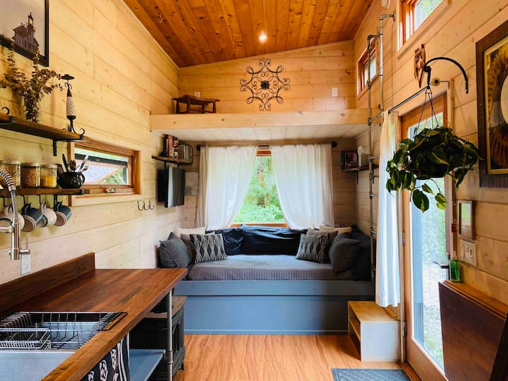 Surprisingly Spacious Tiny Home in the Mountains
