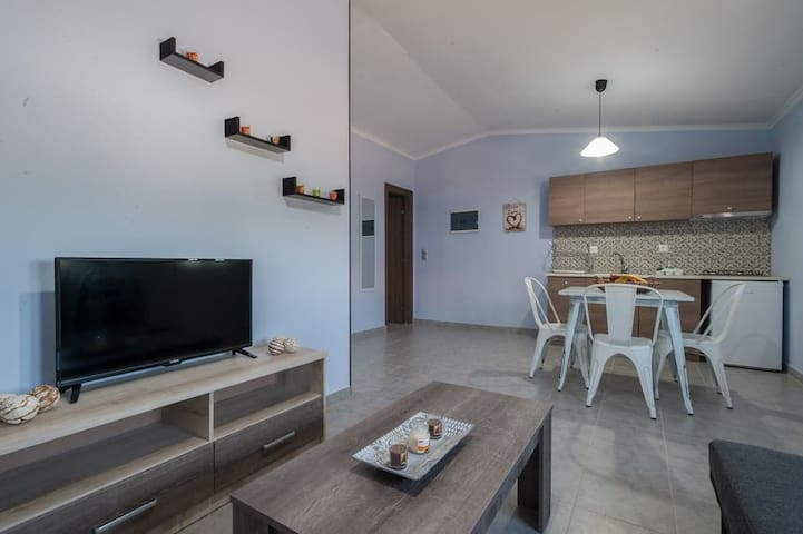 180° Seaview Apartment 1 lemnos keros(eco house)