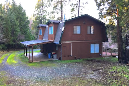 11 Acre Retreat Perfect for Families & Camping - Nevada City - Talo