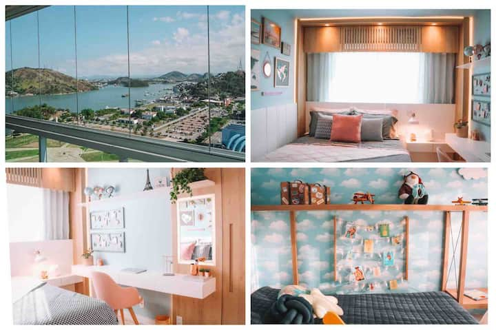 3 Quartos Luxo, 23º andar, Lazer Resort