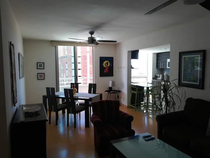 Apartamento  equipado y muy céntrico