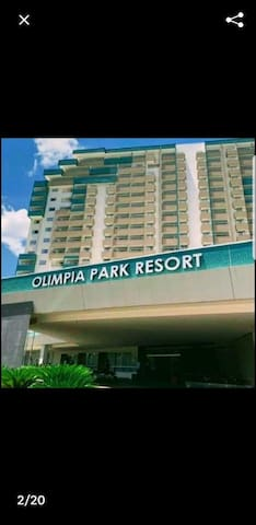 Ap Olimpia Park Resort. Totalmente mobiliado