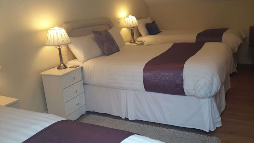 Caragh River Lodge Bed & Breakfast - Family Room