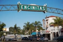 Downtown Encinitas with great shops, dining, yoga, bike shops and more.