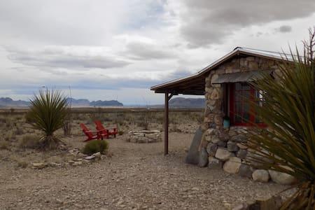 Piedra Poco - Big Bend Cabin. Off-Season Pricing