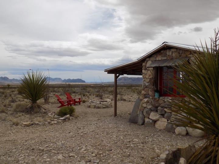 Piedra Poco - Big Bend Cabin - Artistic Original