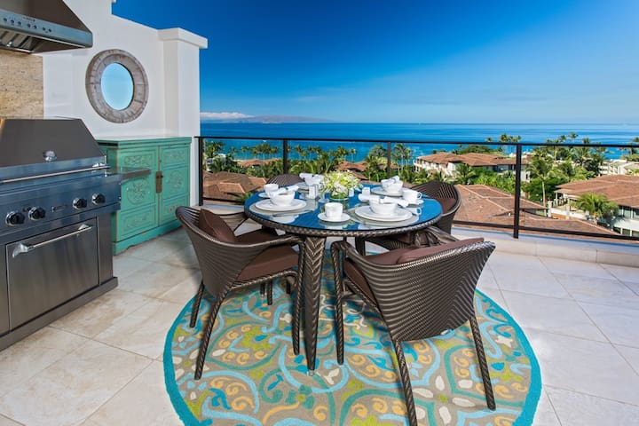 APRIL SAVINGS:VACATION IN YOUR OWN PRIVATE MAUI PARADISE!Orient Pacific J505,Panoramic Ocean Views!