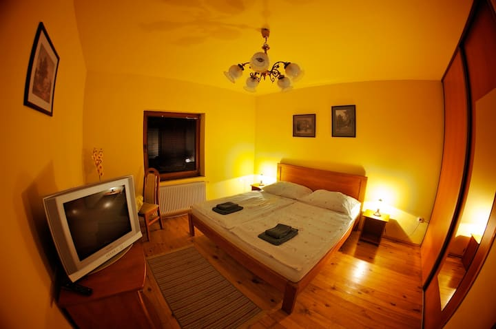 Penzion Plesnivec - king size bedroom