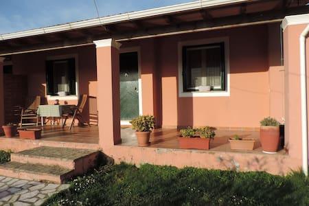Sylvia's house near the beach (center of Arillas)