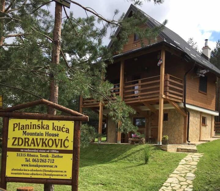 Planinska Kuca Zdravkovic Apartman 1 - Tornik