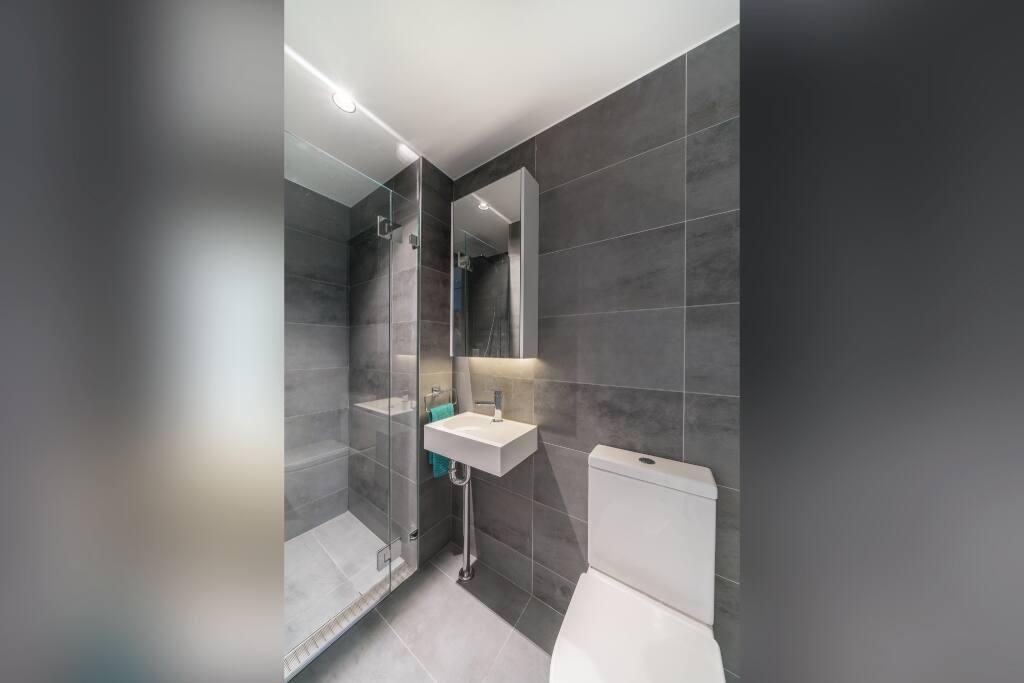 Bathroom of similar configuration