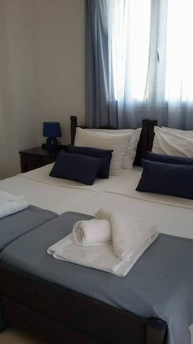 Bedroom of Apartment 1