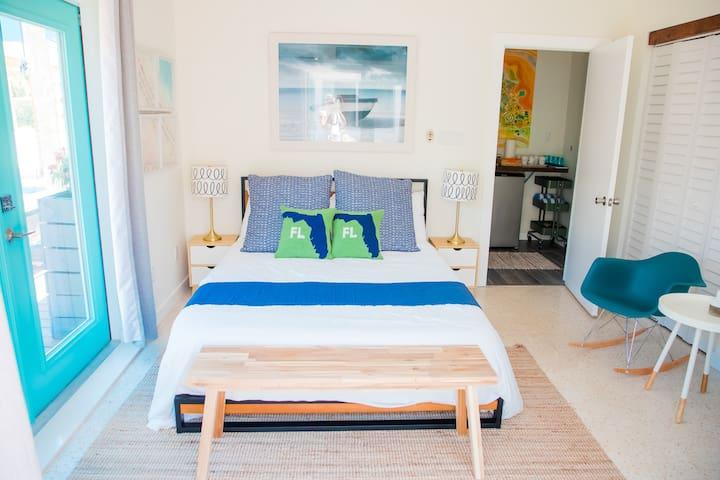 The Ahoy Mini Studio suite at Casa Limonada