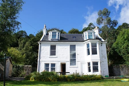 Detached villa, sea views, Scotland - Port Bannatyne