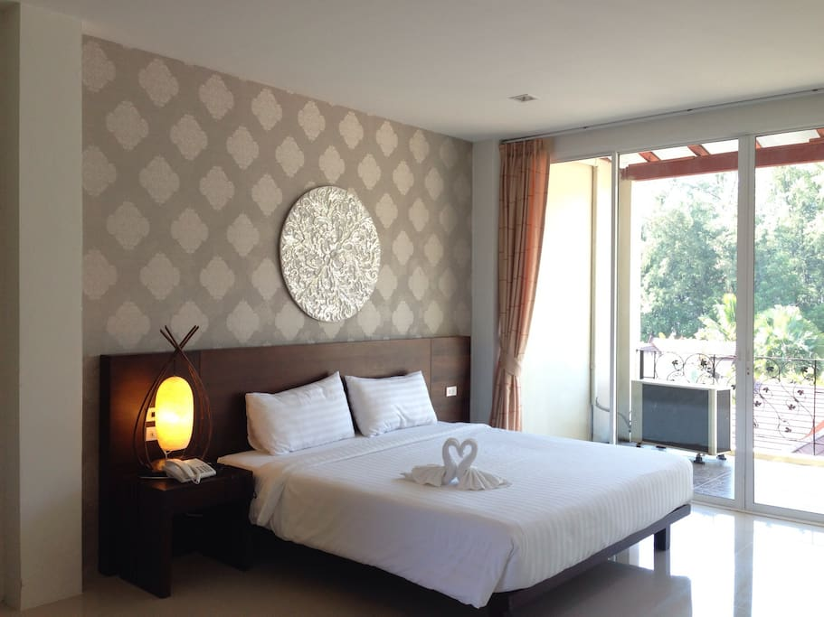 Deluxe room 44sqm. With Double or Twins Bed