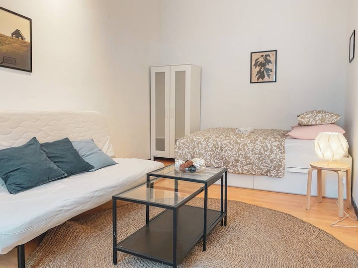 ☆Great Studio perfect located next to Hauptbahnhof