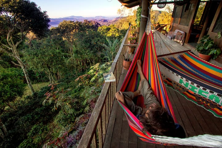 Finca Musica del Bosque - Toucan. Private balcony!