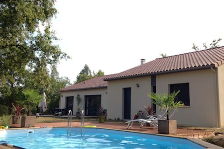 Grde maison tt confort / au calme près Rocamadour - Reilhaguet - Huis