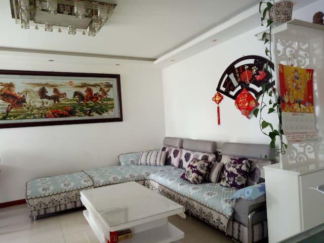 西陲安宁·家庭出游首选阳光两室一厅,提前预订火车站可接送 - Xining - Hus