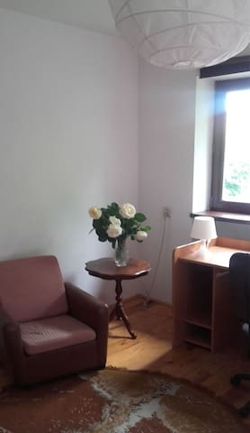 Quiet room  in the house with garden - Warszawa - Casa