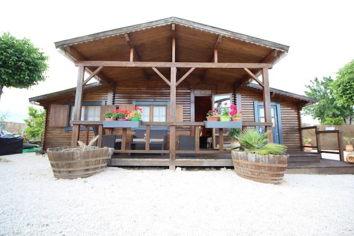 Cabaña rural de madera - Castro del Río - Cottage