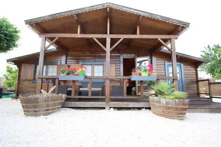 Cabaña rural de madera - Castro del Río - 小屋