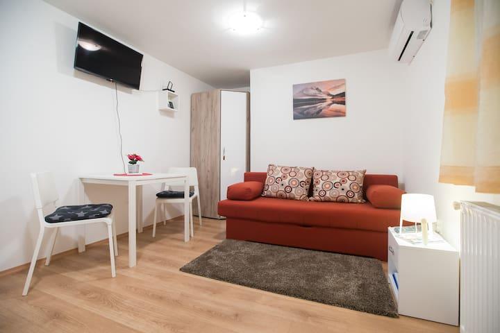 Studio apartman Kika 3 ** + private P