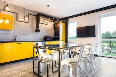 Exclusive apartment for 6 on Radzikowskiego - Kraków-Krowodrza - Wohnung