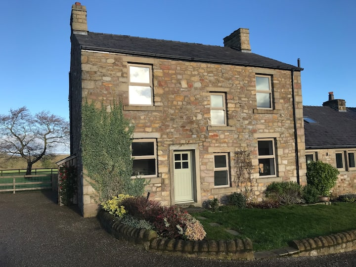 Ribble Valley Farmhouse, Langho. Freshly Decorated