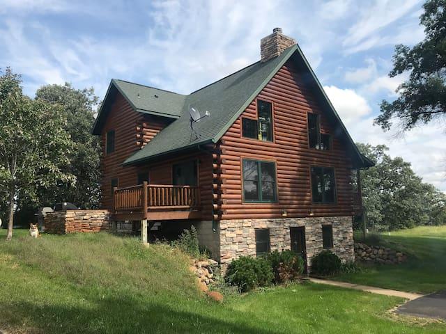 Log Cabin on 4 acres