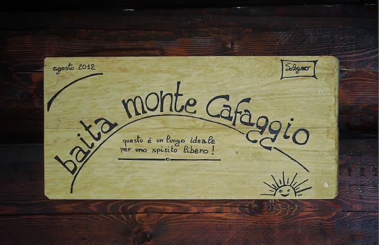 Baita Monte Cafaggio - Sologno - Srub